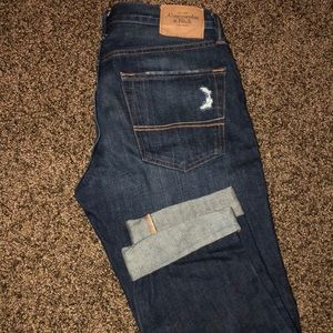 Never worn Abercrombie & Fitch blue jeans